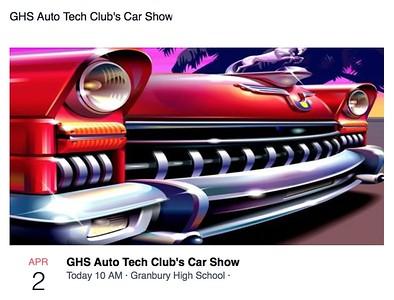 Granbury High School Car Show