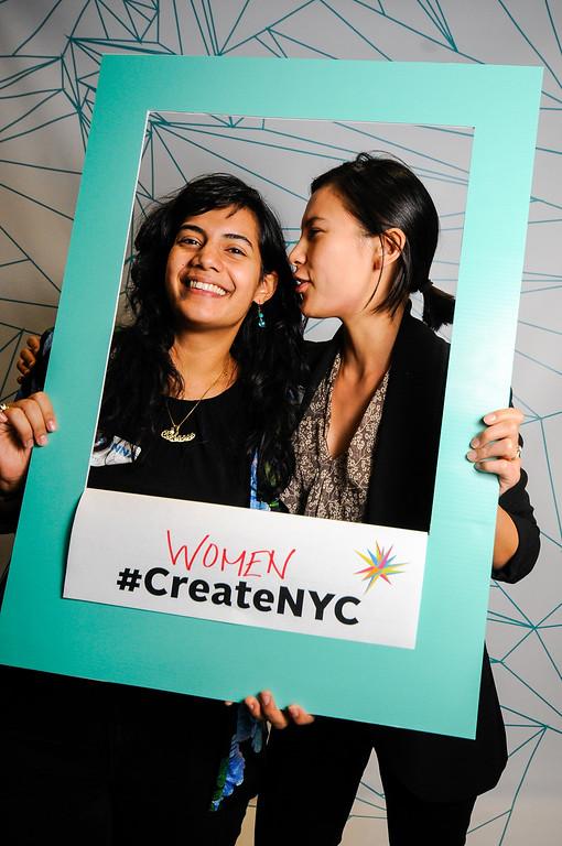 #CreateNYC - Photo Booth