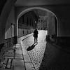 Girl Through Archway