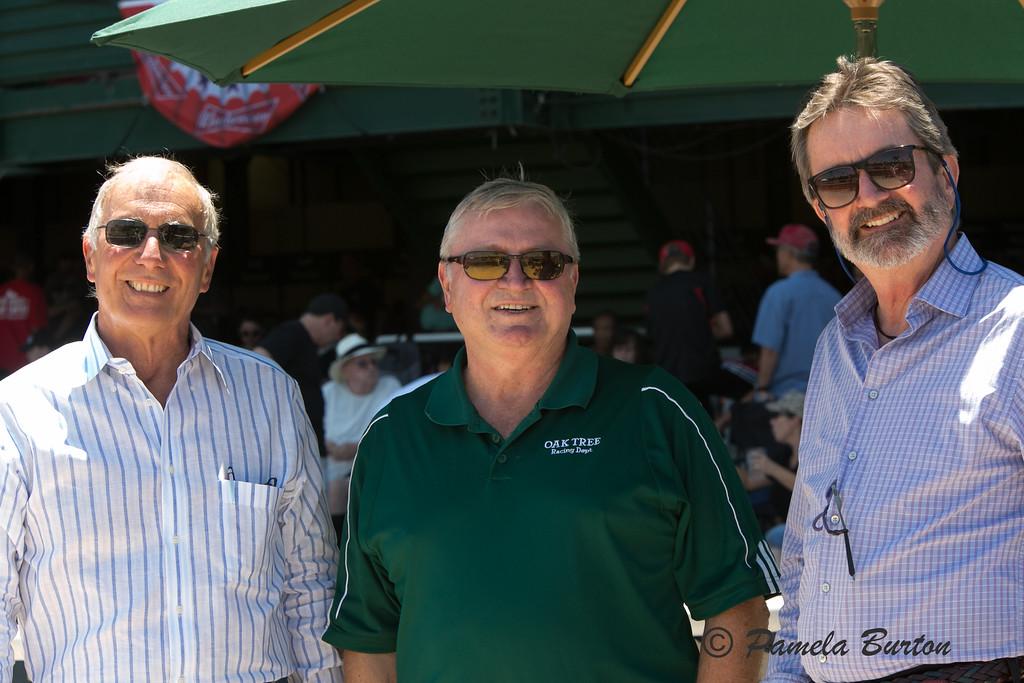 Steve Burton, Larry Swartzlander, CARF, Randy Gault