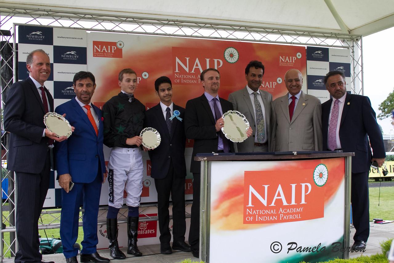 Awards Jockey Harry Bentley, trainer PJ Hammersley, Shadwell OC