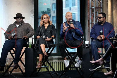 """New York, NY - April 11 2016:  The Monday, Apr 11, 2016 BUILD Series Inside Candids discussing """"Barbershop: The Next Cut"""" at BUILD Studio."""