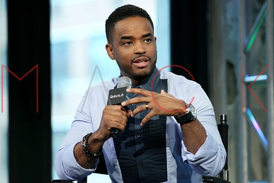 """New York, NY - April 06 2016:  Larenz Tate discussing """"Game Of Silence"""" at BUILD Studio."""