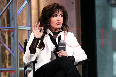 """NEW YORK, NY - APRIL 15:  Marie Osmond attends AOL Build Series to discuss """"Music is Medicine"""" at AOL Studios In New York on April 15, 2016 in New York City."""