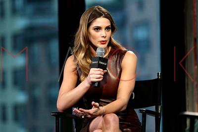 "New York, NY - April 06 2016:  Ashley Greene at BUILD Series discussing the drama series ""Rogue"" at BUILD Studio."