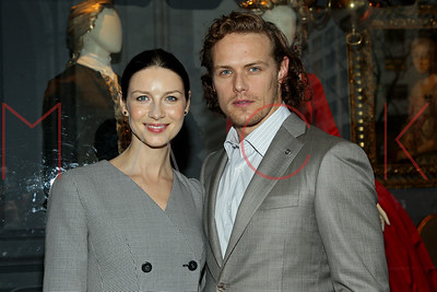 New York, NY - April 07 2016:  The Thursday, Apr 7, 2016 Outlander And Saks Fifth Avenue Photocall at Saks Fifth Avenue.