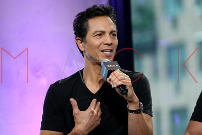 """NEW YORK, NY - JULY 13:  Benjamin Bratt visits AOL Build to discuss the new film """"The Infiltrator""""at AOL HQ on July 13, 2016 in New York City."""