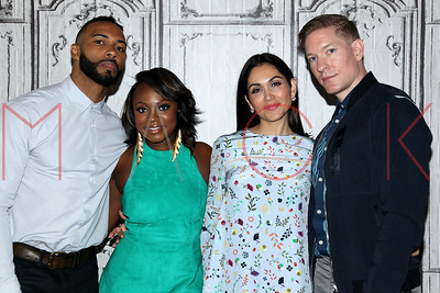 """NEW YORK, NY - JULY 13:  Cast members visit AOL Build to discuss season three of the hit Starz drama """"Power"""" at AOL HQ on July 13, 2016 in New York City."""