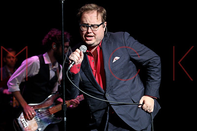 POUGHKEEPSIE, NY - JULY 21:  Paul Janeway of St Paul And The Broken Bones performs at 1869 Bardavon Opera House on July 21, 2016 in Poughkeepsie, New York.