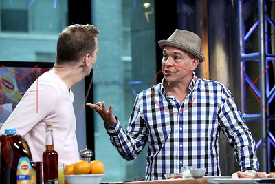 NEW YORK, NY - JUNE 20:  Chef Michael Symon attends AOL Build to discuss National Iced Tea Month at AOL Studios In New York on June 20, 2016 in New York City.