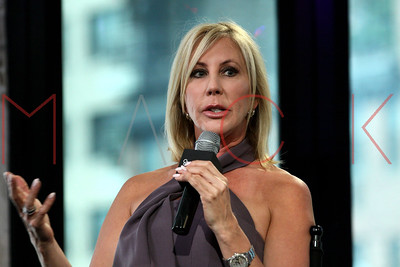 "NEW YORK, NY - JUNE 20:  Vicki Gunvalson attends AOL Build to discuss Season 8 of ""The Real Housewives of Orange County Uncensored"" at AOL Studios In New York on June 20, 2016 in New York City."