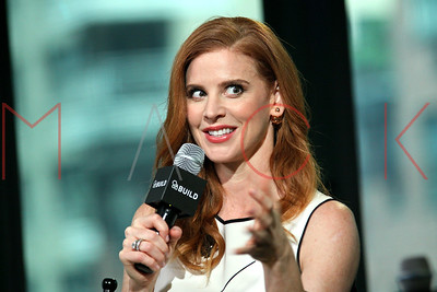 "NEW YORK, NY - JUNE 24:  Actress Sarah Rafferty attends AOL Build to discuss her role in the hit USA Network show ""Suits"" at AOL Studios In New York on June 24, 2016 in New York City."