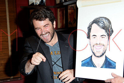 NEW YORK, NY - JUNE 08:  Alex Brightman's Sardi's Caricature Unveiling at Sardi's on June 8, 2016 in New York City.