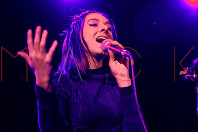 NEW YORK, NEW YORK - MARCH 11:  Christina Grimmie performs at Irving Plaza on March 10, 2016 in New York City.