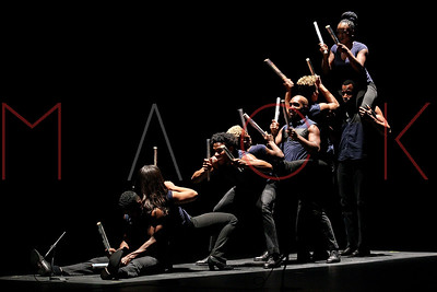 POUGHKEEPSIE, NY - MAY 06:  Step Afrika! performs at the 1869 Bardavon Opera House.