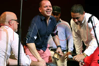 POUGHKEEPSIE, NY - OCTOBER 23:   2016 Havana Cuba All Stars Cuban Night at The Bardavon 1869 Opera House on October 23, 2016 in Poughkeepsie, New York.