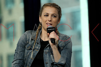 """NEW YORK, NY - SEPTEMBER 27:  Iliza Shlesinger attends The Build Series Presents to Discussing Her New Stand Up Special """"Confirmed Kills"""" at AOL HQ in New York."""