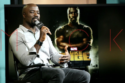 """NEW YORK, NY - SEPTEMBER 29:  Mike Colter attends BUILD Speaker Series Discussing """"Luke Cage"""" at AOL HQ on September 29, 2016 in New York City."""