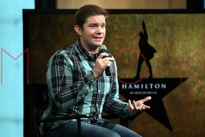 """NEW YORK, NY - SEPTEMBER 27:  Rory O'Malley attends The Build Series Presents to discuss """"Hamilton"""" at AOL HQ in New York."""