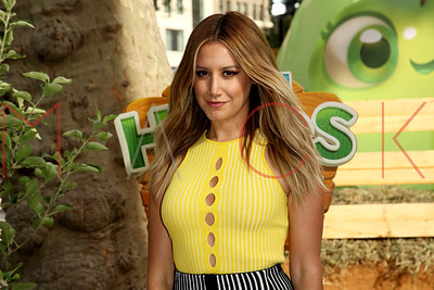 NEW YORK, NY - SEPTEMBER 21:  Ashley Tisdale attends Farm Heroes Super Saga Launch at Madison Square Park.