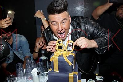 NEW YORK, NY - SEPTEMBER 30:  Johnny Donovan celebrates his 30th Birthday Party at XL Nightclub on September 30, 2016 in New York City.lub in New York.