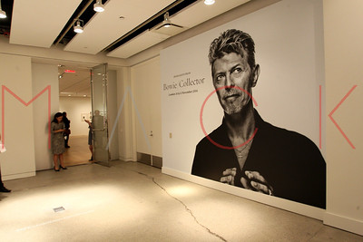 NEW YORK, NY - SEPTEMBER 26:   The Bowie/Collector Media Preview at Sotheby's on September 26, 2016 in New York City.