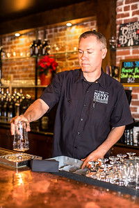 Andy Klein of The Monk's Cellar in Roseville for a story in the January 2017 print edition of Comstock's magazine.