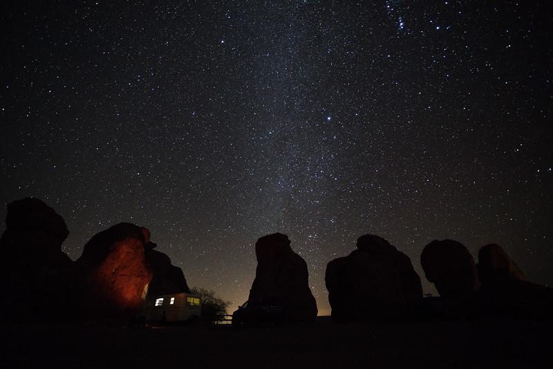 City of Rocks Camping