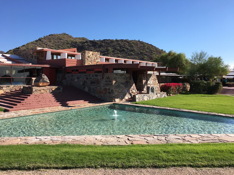 Taliesin West tour: Frank Lloyd Wright Home