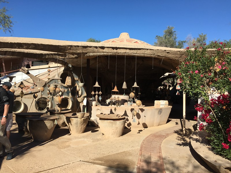 Cosanti Foundry tour/ Solari bronze bells