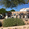 Taliesin West tour: Frank Lloyd Wright Home. Sculptures