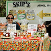 Diane Jones sells Skip's Jelly, out of Athol, at the Artsmith Festival on Saturday afternoon at Riverfront Park. SENTINEL & ENTERPRISE / Ashley Green