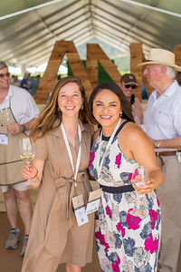 Belia Ramos at the entrance of the Barrel Auction.  Briana Marie Photography for Napa Valley Vintners