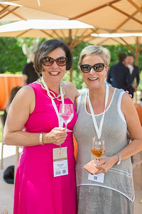 Emma Swain with Linda Reiff at the Barrel Auction. Robert Mondavi Winery  Briana Marie Photography for Napa Valley Vintners