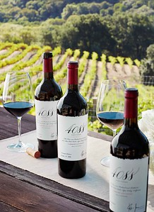 Limited production and rare verticals of wine, large format and etched bottles  Courtesy of the Napa Valley Vintners