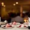 Chef Nash Cognetti shares desert paired with wines at the Gargiulo Vineyards Auction Napa Valley party.<br /> <br /> Briana Marie Photography for Napa Valley Vintners