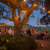 Guests dine overlooking Gargiulo Vineyards. <br /> <br /> Briana Marie Photography for Napa Valley Vintners