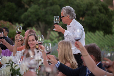 Jeff Gargiulo thanks his guests.  Briana Marie Photography for Auction Napa Valley