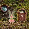 2016 July Fairy Ava at her fairy house