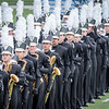 The Dripping Springs High School Tiger Band on the field at Kelly Reeves Athletics Complex in Round Rock during the 2016 BOA Austin Regional competition on Saturday, September 24th, 2016.