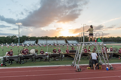Tiger Band Summer Rehearsal, August 23rd, 2016. Photo by David Douglas.