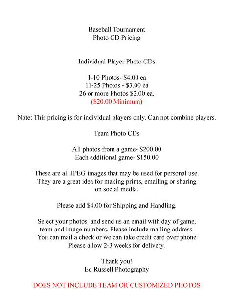 Baseball Price 16