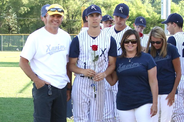 Xavier Baseball Senior Recognition Night 7/1/16