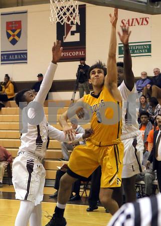 2016 Basketball Landon 55 v Bullis 61