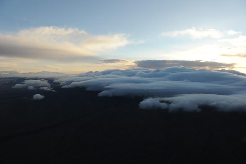 Clouds on Manzano Mtns