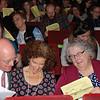 Audience participation.