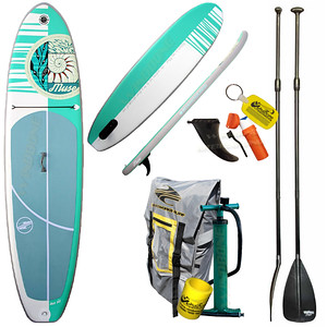 2016 Boardworks Muse Inflatable SUP 10-2 Womens Fitness Touring