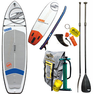2016 Boardworks SHUBU Mod Inflatable SUP 10-6 Stand Up Paddle Board