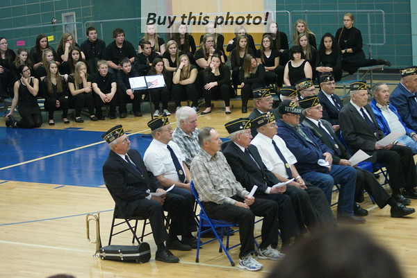 BBE Veterans Day program