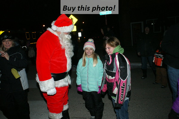 Santa Claus in SUNBURG! 12-09